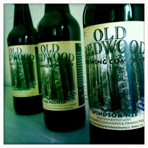 Old Redwood Brewing Bottles