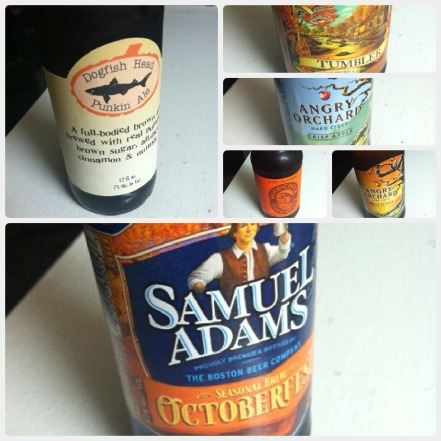 Harvest Ale Collage