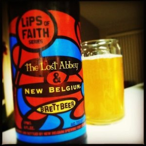 New Belgium and The Lost Abbey: Lips of Faith Series - Brett Beer
