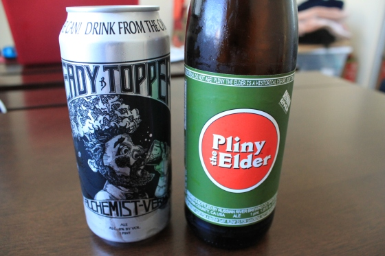 Pliny the Elder vs Heady Topper
