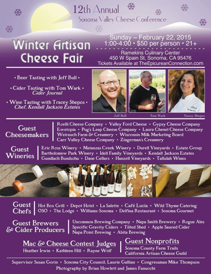 Winter Artisan Cheese Fair in Sonoma
